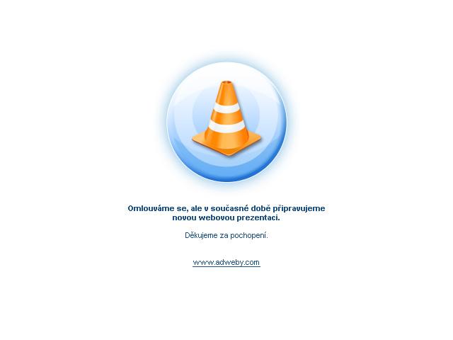 Omlouváme se za nefunkčnost stránek. Připravujeme novou internetovou prezentaci.