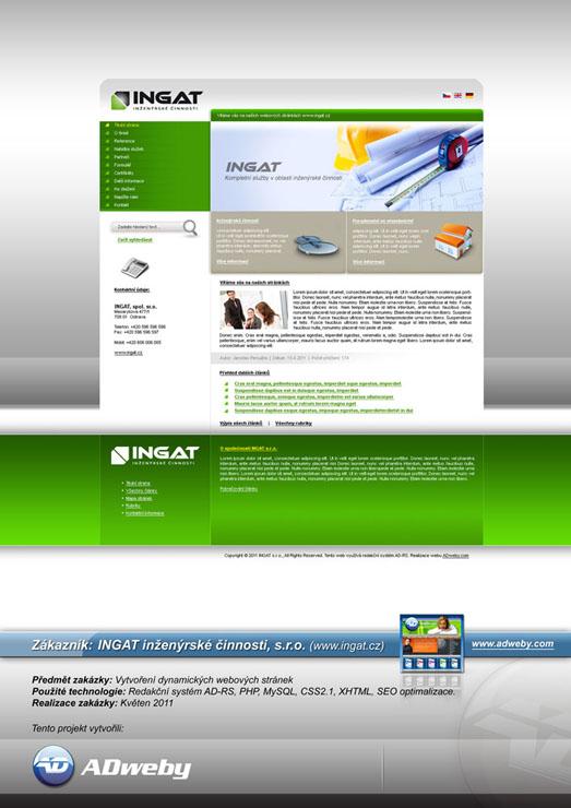 Reference INGAT inženýrské činnosti, s.r.o.