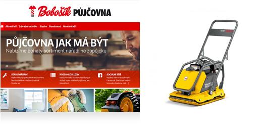 Reference Půjčovna Bobošík