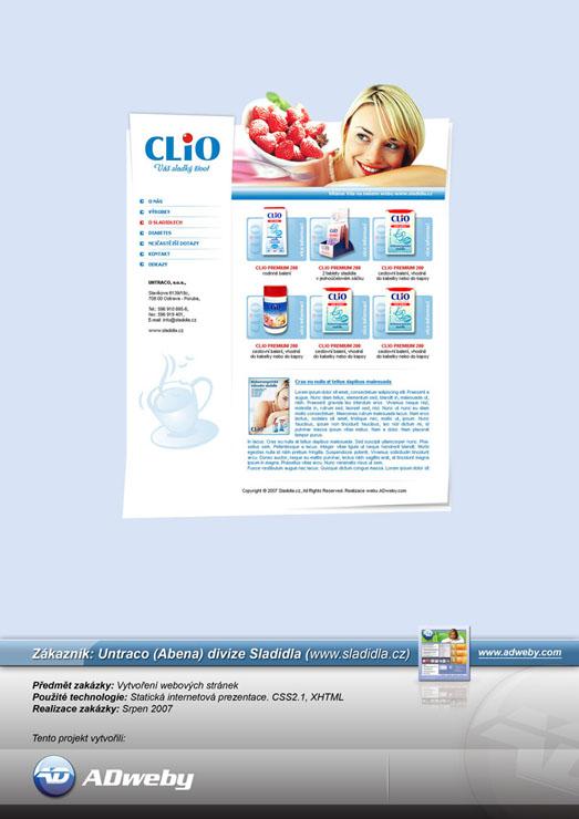 Reference CLIO - SLADIDLA