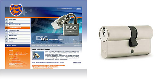 Reference EUROPEAN SECURITY COMPANY a.s.