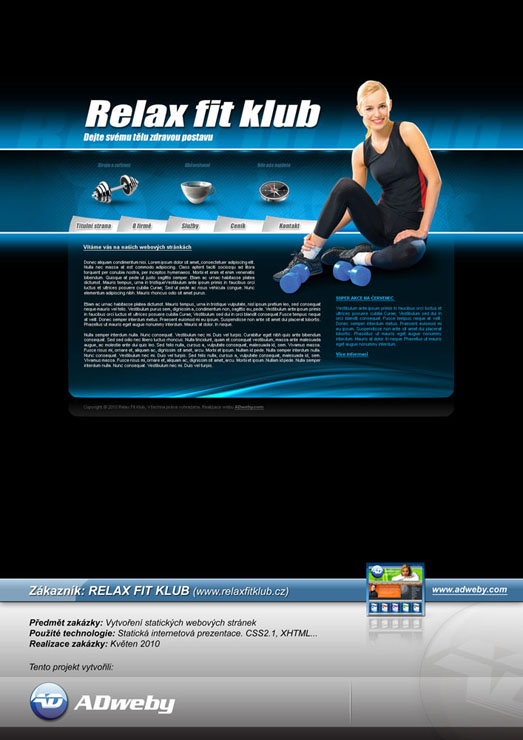 Reference RELAX FIT KLUB - Ostrava